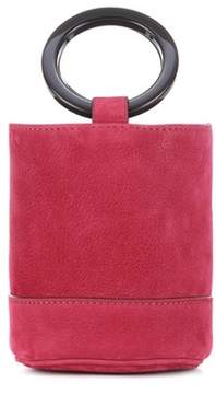 Simon Miller Bonsai 15 suede clutch