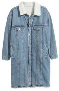 H&M Knee-length Denim Jacket