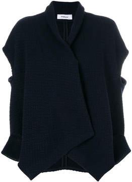 Chalayan open shoulder knit jacket