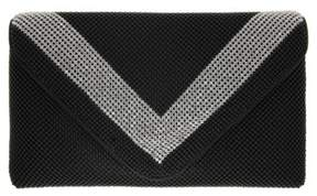 Nina Ball Kiralee Mesh Clutch - Black