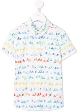 Paul Smith bicycle print shirt