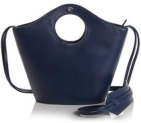 Elizabeth and James Market Small Leather and Suede Tote