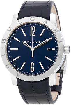 Bvlgari Solotempo Blue Dial Automatic Men's Watch