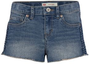 Levi's Girls 7-16 Novelty Embroidered Shortie Shorts