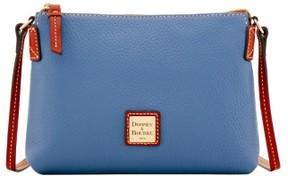 Dooney & Bourke Pebble Grain Crossbody Pouchette Shoulder Bag - GRAPHITE - STYLE