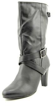 Karen Scott Violett Round Toe Synthetic Mid Calf Boot.