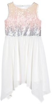Blush by Us Angels Girl's Sequin Bodice Dress