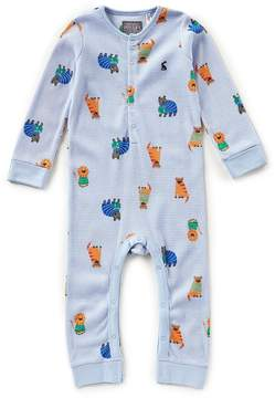 Joules Baby Boys 18-24 Months Webley Printed Long-Sleeve Coverall