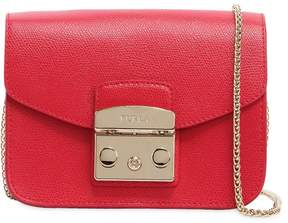 Mini Metropolis Saffiano Leather Bag