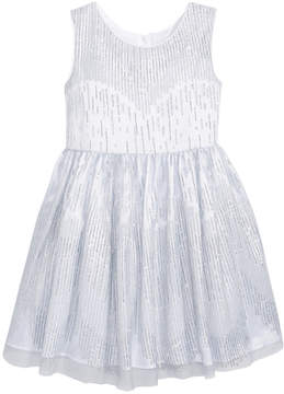 Sweet Heart Rose Caviar-Bead Party Dress, Little Girls (4-6X)