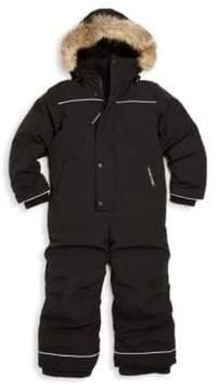 Canada Goose Toddler's & Little Boy's Grizzly Fur Trim Down Snowsuit