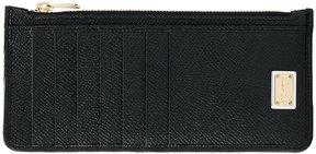 Dolce & Gabbana zipped card holder - BLACK - STYLE