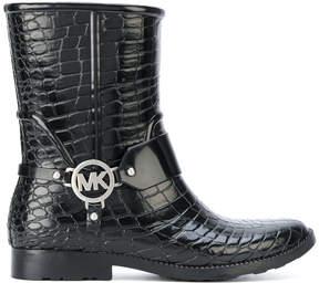 MICHAEL Michael Kors croc effect wellington boots