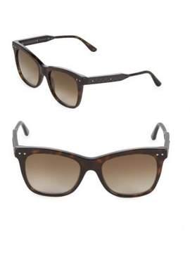 Bottega Veneta 53MM Cat Eye Sunglasses