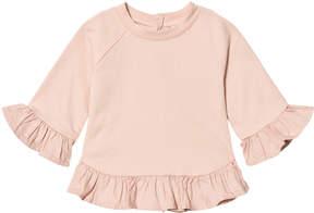 Mini A Ture Noa Noa Miniature Cameo Rose 3/4 Sleeve Frill Pullover
