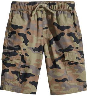 Epic Threads Camo-Print Cotton Cargo Shorts, Toddler Boys, Created for Macy's