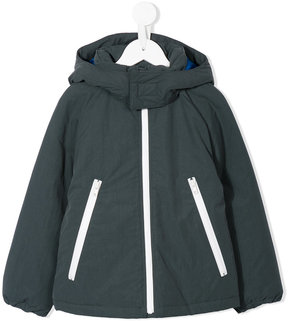 Familiar padded hooded jacket