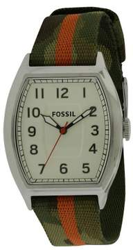 Fossil Narrator Nylon Mens Watch FS4914