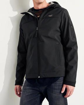 Hollister Fleece-Lined Stretch Softshell Jacket