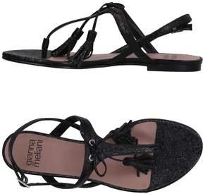Gianna Meliani Toe strap sandals
