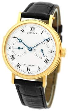 Breguet Minute Repeater 18K Yellow Gold Mens Strap Watch