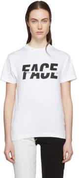 Facetasm White Split Logo T-Shirt