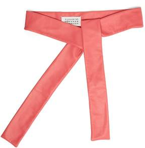 Maison Margiela Self-tie leather belt