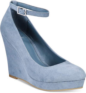 Material Girl Vivie Wedge Pumps, Created for Macy's Women's Shoes