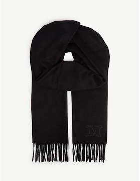 Max Mara Solid cashmere scarf