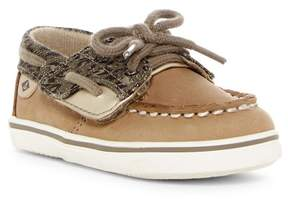 Sperry Bluefish Crib Boat Shoe (Baby)