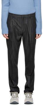 Acne Studios Grey Striped Boston Trousers
