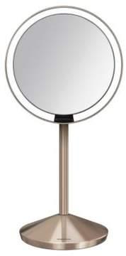 Simplehuman Rosetone Sensor Mirror with Travel Case- 5 in.