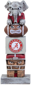 Evergreen Alabama Crimson Tide Tiki Totem