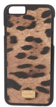 Dolce & Gabbana Leopard Print iPhone 6 Case