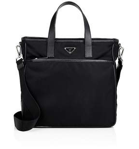 Prada Men's Top-Zip Tote