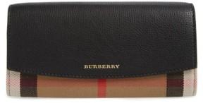 Burberry Women's 'Porter' Continental Wallet - Black - BLACK - STYLE