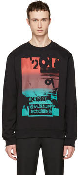 McQ Black Katsumi Clean Sweatshirt
