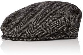 Borsalino Men's Herringbone Wool-Blend Ivy Cap