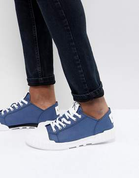Calvin Klein Biff Chunky Sole Sneakers In Blue