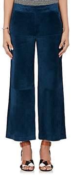 Derek Lam Women's Suede Gaucho Pants