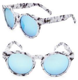 Quay Gradient 51MM Wayfarer Sunglasses