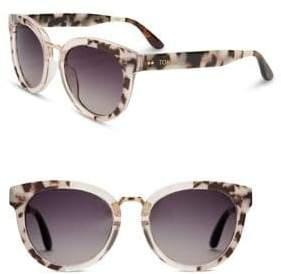 Toms 52MM Round Sunglasses