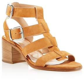 Charles David Bronson Caged Block Heel Sandals