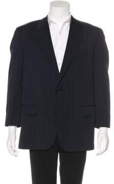 Corneliani Striped Wool Blazer
