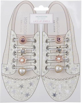 Monsoon 8x Lace Up Shoe Jewels
