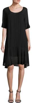 Velvet by Graham & Spencer Women's Scoopneck Midi Dress