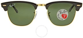 Ray-Ban Clubmaster Classic Polarized Green Classic G-15 Sunglasses