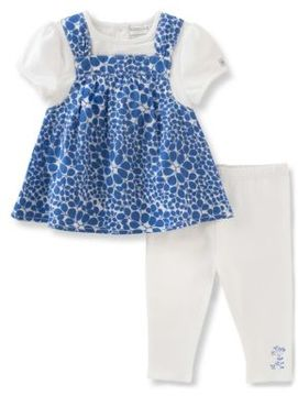 Absorba Baby Girls Floral Tunic and Leggings Set