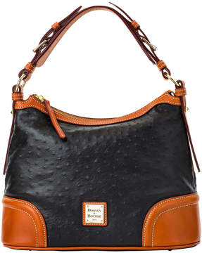 Dooney & Bourke Ostrich Hobo - BLACK - STYLE