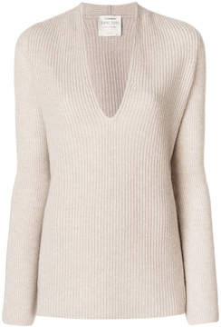 Forte Forte v-neck ribbed sweater